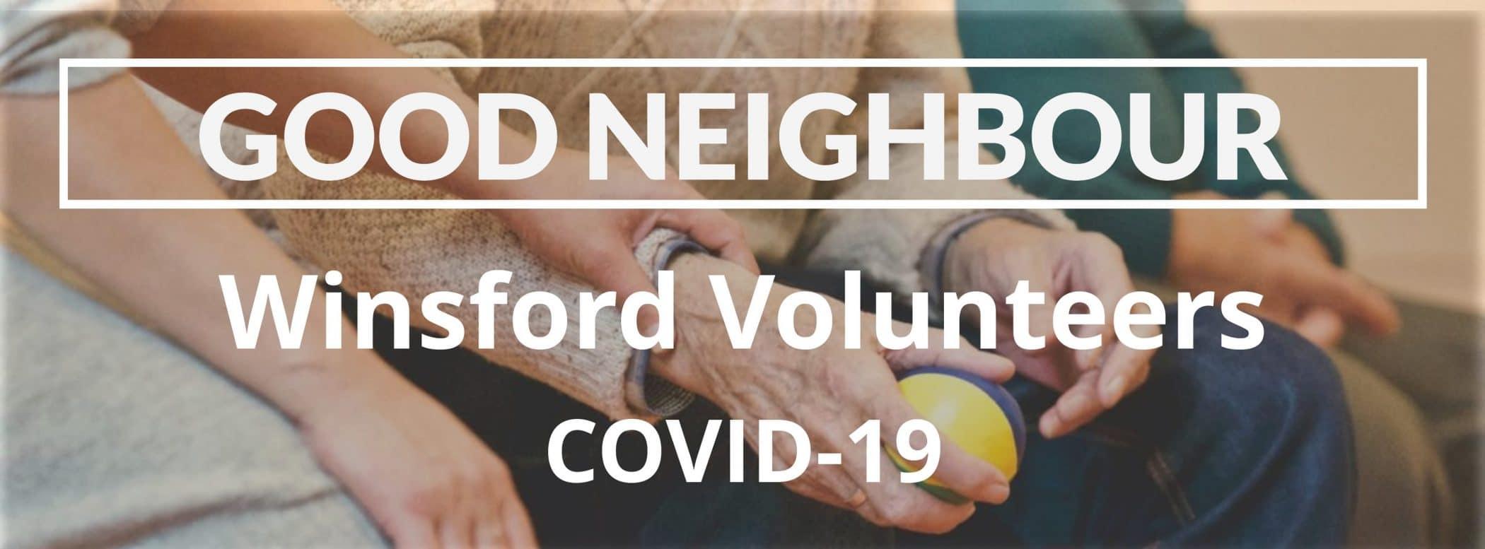 Good Neighbour Winsford Volunteers Covid-19